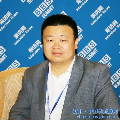 天太杨小亮在BBS2016论坛上接受记者采访